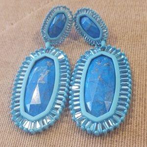 💦NWOT Kendra Scott Aqua and Turquoise Earrings💦